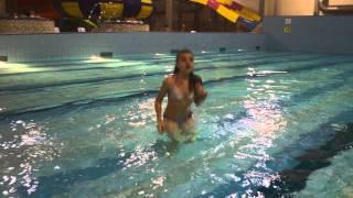 Учимся плавать. Снимается Лиля