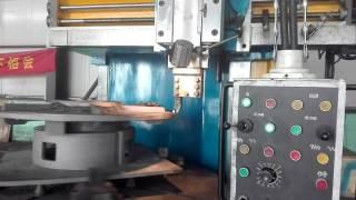 Vertical turning lathe machine VTL  processing