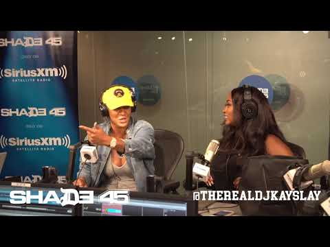 Dj Kayslay interviews Nya Lee live on Shade45