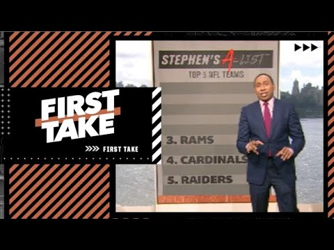 Download Stephen's A-List: Top 5 NFL teams | First Take