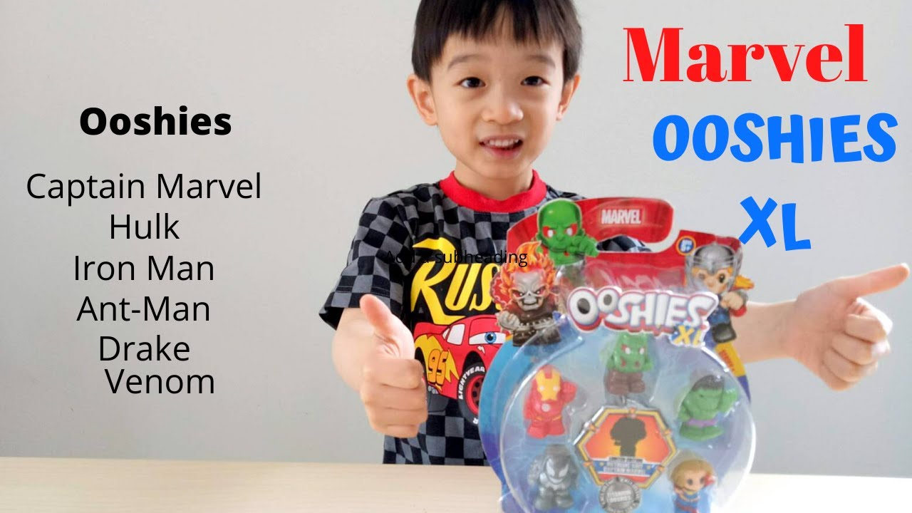 Marvel HulkBuster Ooshies Rare Series 3 Pencil Toppers