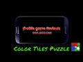 Mobile Game Reviews with dgtlone  Color Tiles Puzzle
