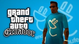 Camiseta de Enchufe TV HD | GTA Ecuador