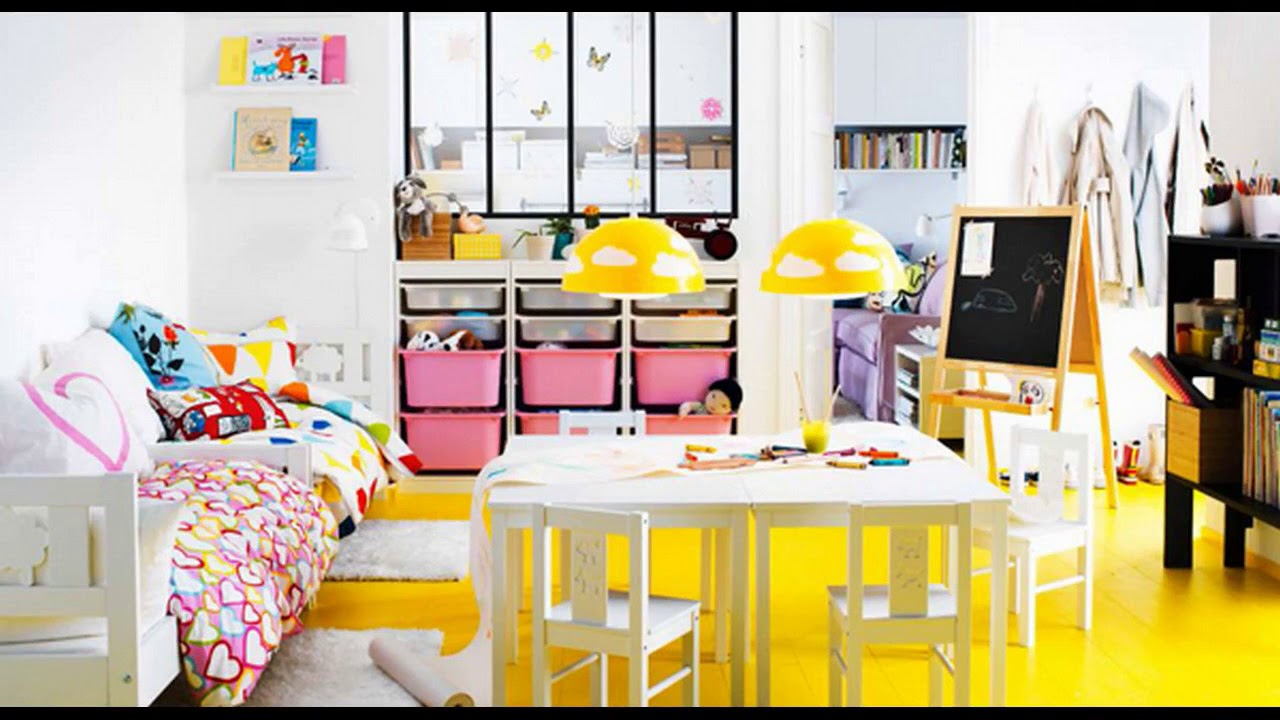 Top 40 IKEA Ideas For Kids Room Decorating Tour 2018 | For Boys And Girls  Design Bedroom Makeover