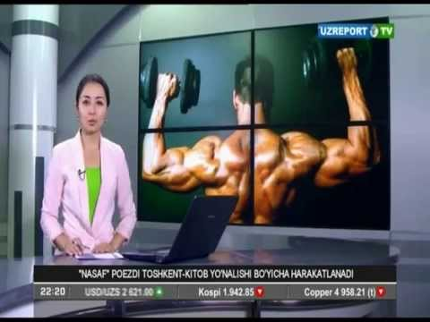 49th Asian Bodybuilding Championship on Uzbek media
