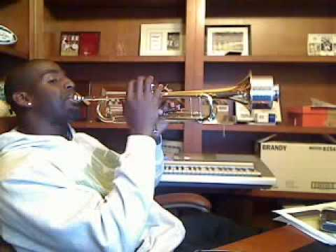 Chris Harris Playing Louis Armstrong On Trumpet UUUUhgain