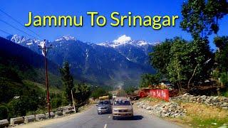 Jammu To Srinagar By Road I Jammu To Kashmir Road I Srinagar Road Trip