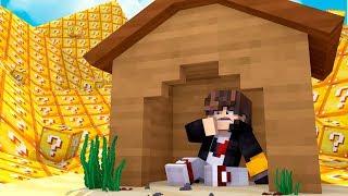 Minecraft: DESAFIO DA BASE 100% SEGURA CONTRA TSUNAMI DE LUCKYBLOCK ‹ JUAUM ›