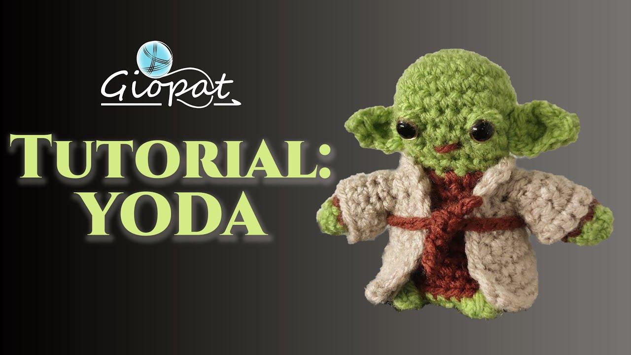 Amigurumi PATTERN Master Yoda Star Wars Crochet Star Wars | Etsy | 720x1280