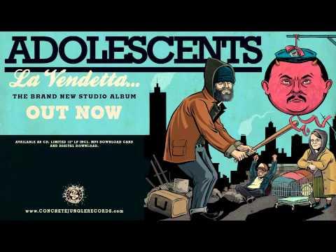 ADOLESCENTS - LET IT GO (PRE-LISTENING) - Concrete Jungle Records