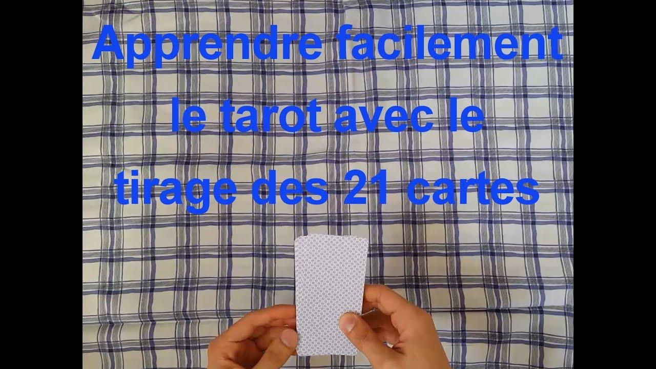 le tirage du tarot avec 21 cartes pour votre chemin de vie - YouTube d695bf16630f