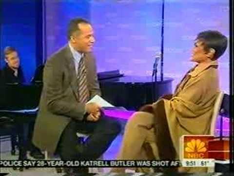 Eartha Kitt on the NBC Today