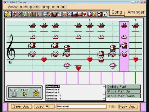super mario paint composer mac télécharger