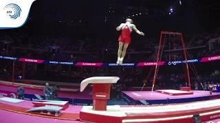 Daniel PONIZIL (CZE) - 2018 Artistic Gymnastics Europeans, junior vault final