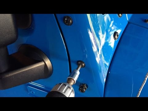 Jeep Wrangler Body Noise Click or Creek Fix