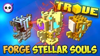 HOW TO CRAFT RADIANT & STELLAR SOULS in TROVE GEODE!