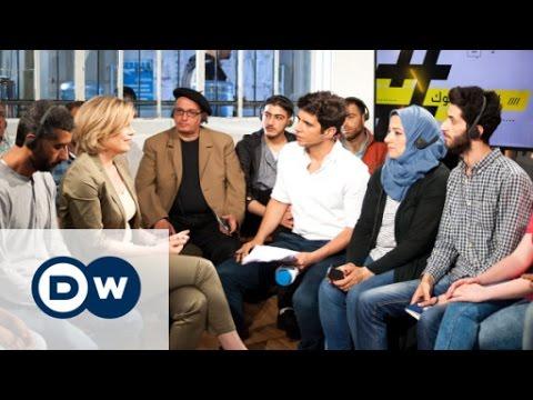 Politiker und Flüchtlinge diskutieren über das neue Integrationsgesetz | Shababtalk
