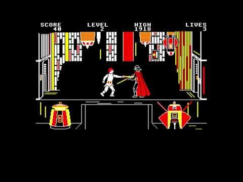 Jedi Battle for the BBC Micro