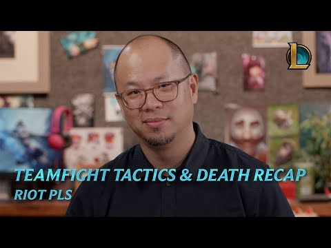 Teamfight Tactics And Death Recap   Riot Pls - League Of Legends