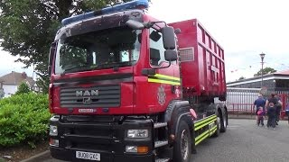 WMFS - Water Support Unit on A058 prime-mover & Foam Distribution Pod at Perry Barry Fun Day 2014