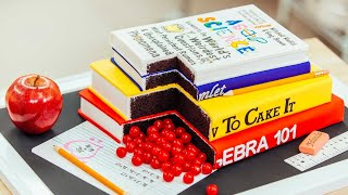 These Books Are CAKE | New Year Resolutions In Cakes | How To Cake It Step By Step