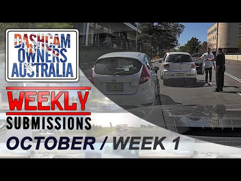 Dash Cam Owners Australia Weekly Submissions October Week 1