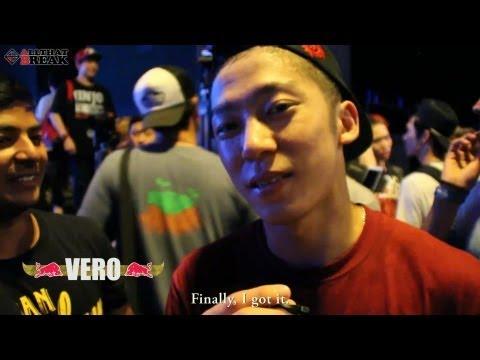 VERO's BATTLE STORY(Real Interview) / RedBull BC One 2013 Seoul Cypher / Allthatbreak.com