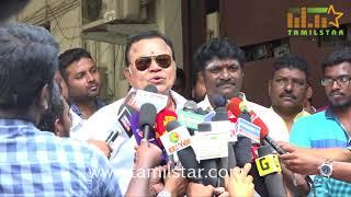 Radha Ravi Press Meet Regards Nomination For Dubbing Union Election