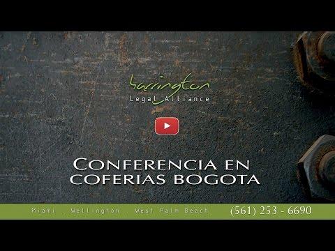 Leyes De Bienes Raises: Conferencia En El Salon Imobilario En Coferias Bogota | HLA | WPB, FL