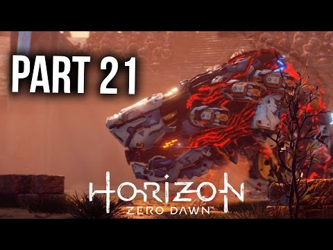 HORIZON ZERO DAWN Walkthrough Part 21 - DEEP SECRETS OF THE EARTH (PS4 Pro Gameplay Let's Play)