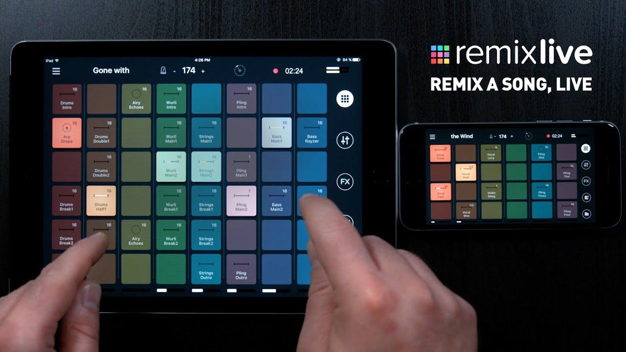 Remixlive - Remix a song, live [Performance by Arkaei]
