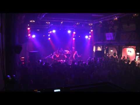 Belgian band Contr-X live at the nostalgic metal night 15-11-2013