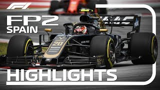 2019 Spanish Grand Prix: FP2 Highlights