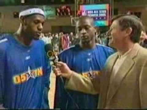 LeBron and D-Wade All-Star 2005