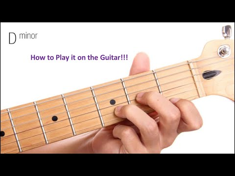 how-to-play-the-dm-chord-on-the-guitar!