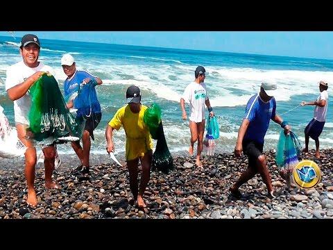 ☑️ Las Mejores Pescas【Grandes Lisas】- Amazing cast net fishing net