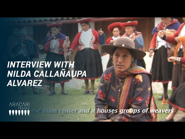 Aracari Interview with Nilda Callañaupa Alvarez