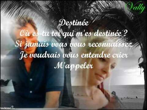 DESTINEE - GUY MARCHAND