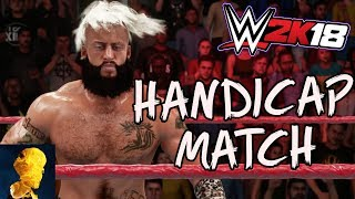 WWE 2K18 - Enzo Amore in a Handicap Match against Neville and Jack Gallagher - EXCLUSIVE GAMEPLAY