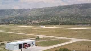 Mistral Air at Mostar International Airport LQMO