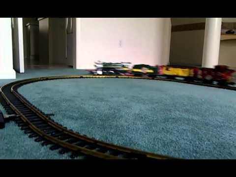 New Bright RailKing Chicago 3750 Train Set 375 G scale