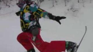 スキーボードskiboard ノーズマニュアル等 グラトリ thumbnail