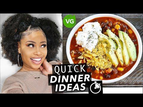 FIRE🔥 15-MINUTE VEGAN DINNER IDEAS! [super easy]