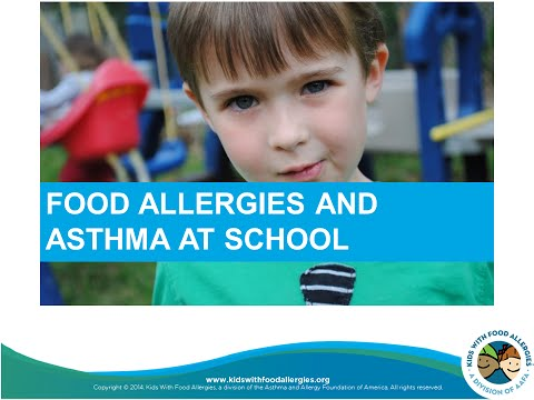 Prepare for School with Food Allergies and Asthma