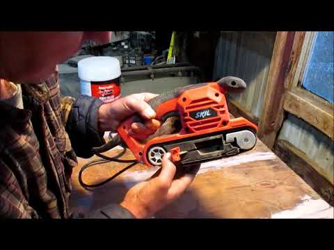 Reviewing and Demonstrating the Skil Sand Cat Belt Sander