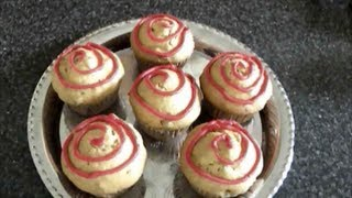 Ginger And Pistachios Egg Less Cupcakes