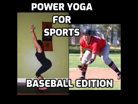 Power Yoga For Sports DVD - Baseball Edition