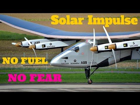 Solar Impulse - How to fly around the world with no fuel, World Record Breaking Solar Impulse 2