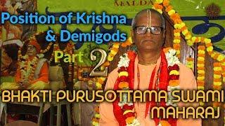 Seminar at ISKCON Malda By HH BHAKTI PURUSOTTAMA SWAMI MAHARAJ part 2/2