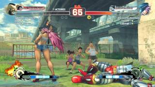 1st Zangief Fight on Ultra Street Fighter IV - (Sector-7-Justice) Zangief vs(RyuSatsuiNoHado) Poison